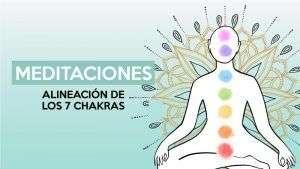 alineación de los 7 chakras