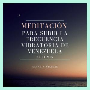 Meditación por Venezuela