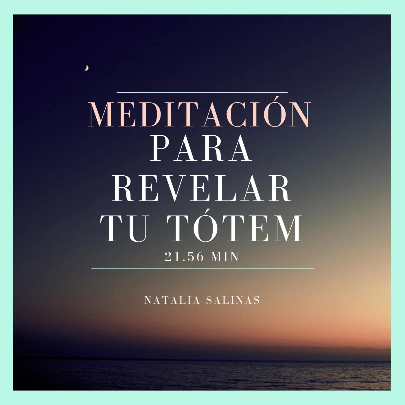meditación para revelar tótem