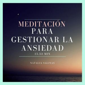 Meditación para la gestión de la ansiedad