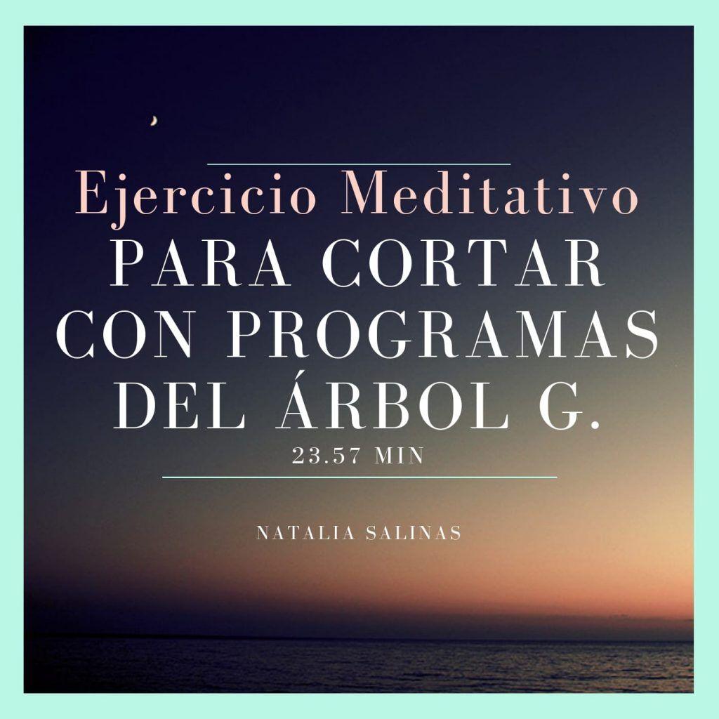 meditación como cortar con programas del arbol genealógico