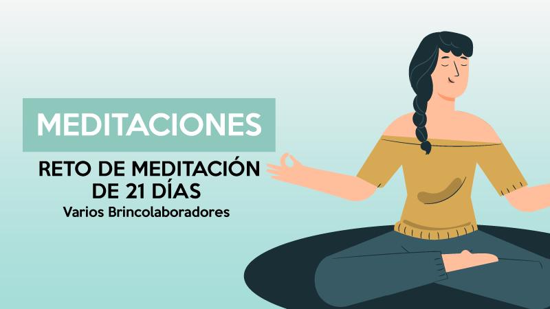 Reto meditación 21 días