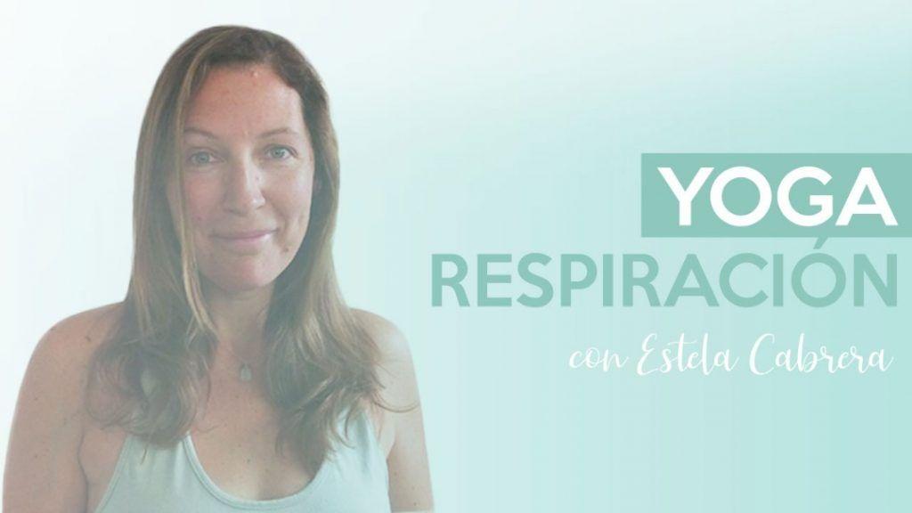 yoga respiración curso Estela