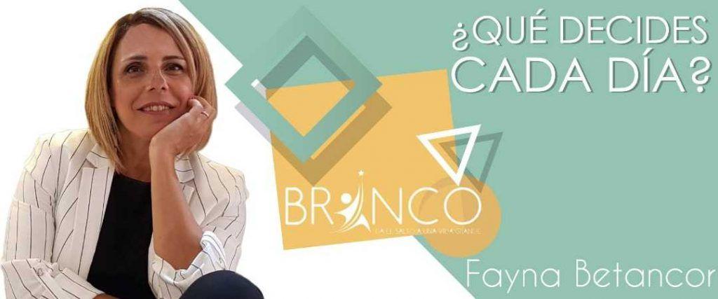 Fayna Betancor Blog Tú decides