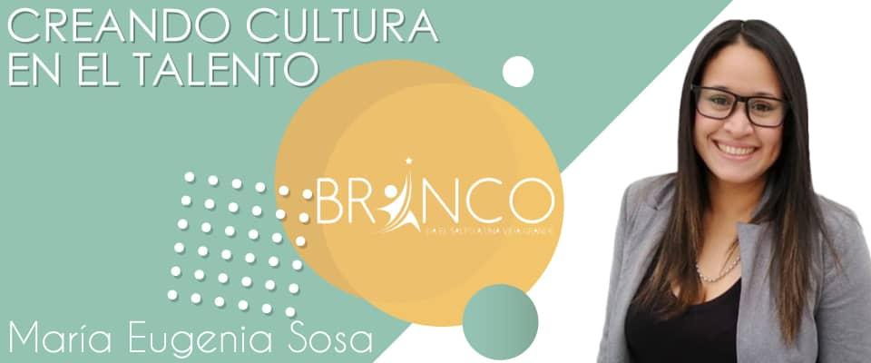 creando cultura en el talento María Eugenia Sosa