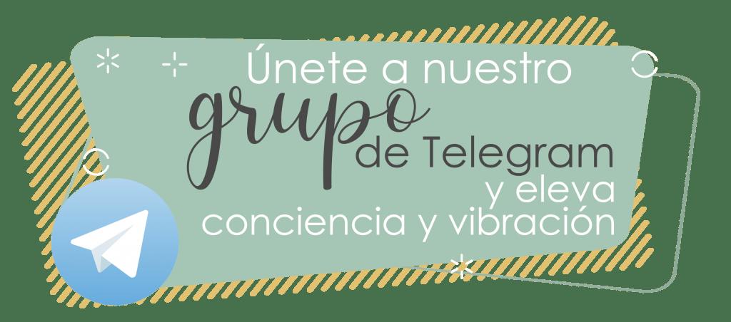 Únete al grupo de Telegram