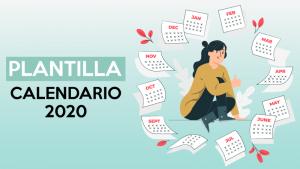 calendario 2020 plantilla