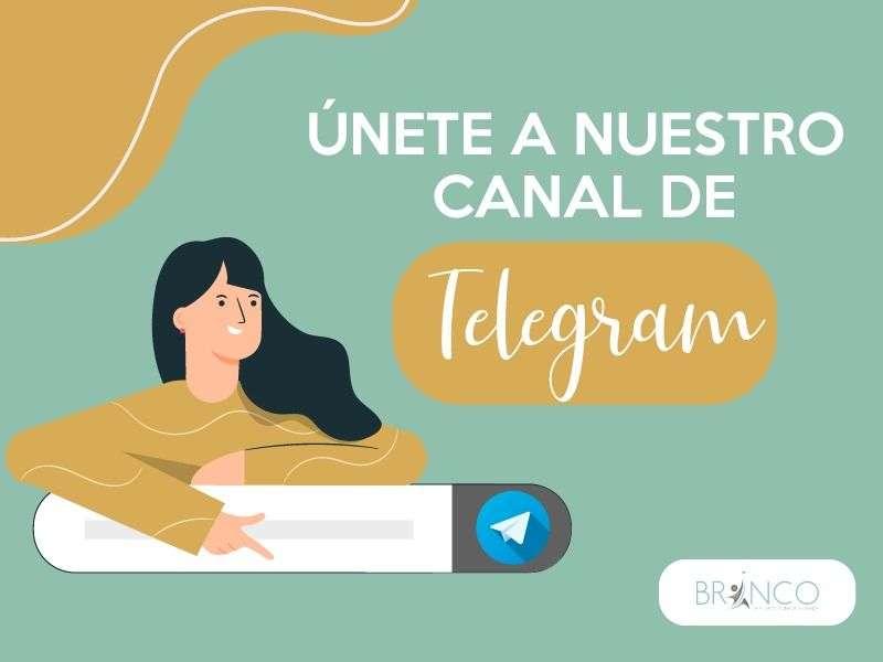 Únete a canal Telegram