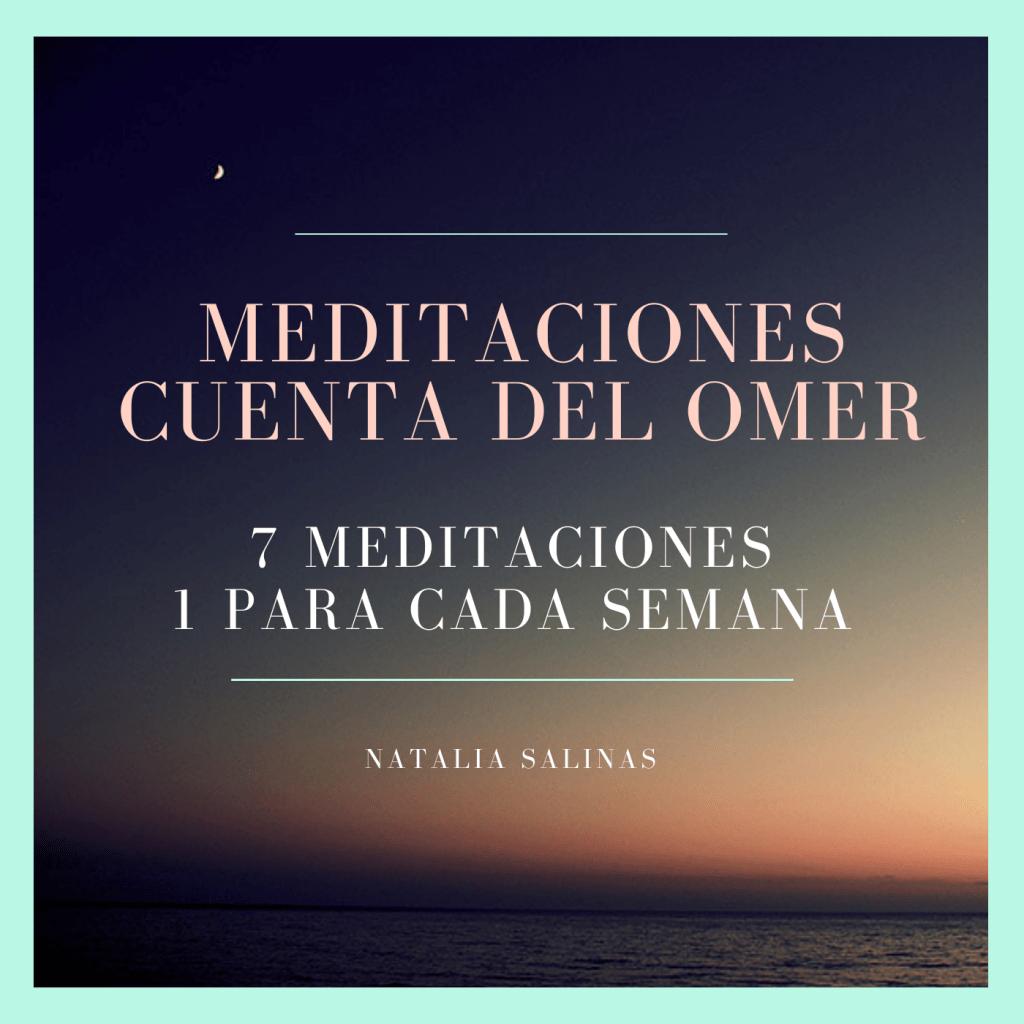 Portada meditaciones cuenta de Omer