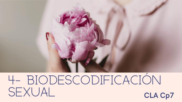 4- Biodescodificacion sexual
