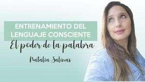 Portada entrenamiento del lenguaje consciente - Natalia Salinas