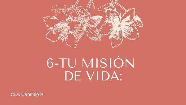 6-Tu misión de vida.
