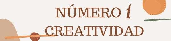 Número 1 - creatividad