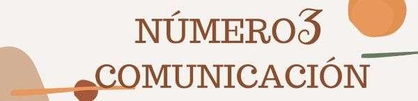 Número 3 - Comunicación